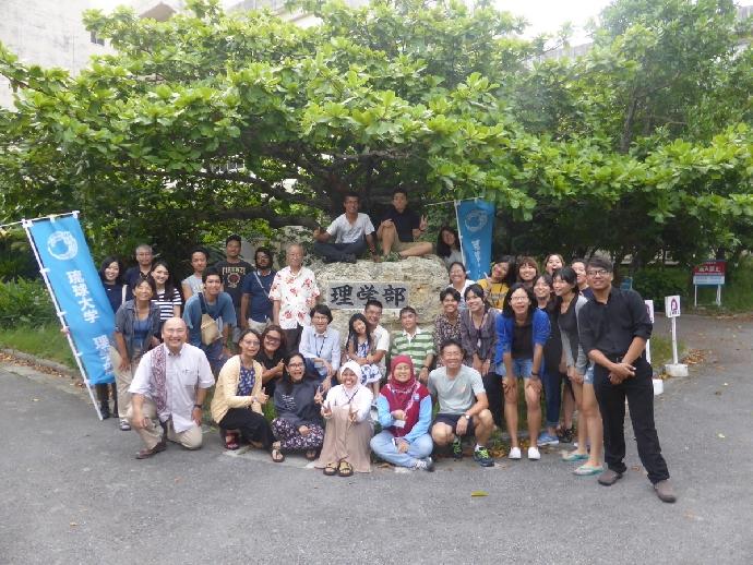 「以大自然為師」生科系師生參加日本琉球國際田野課程記行